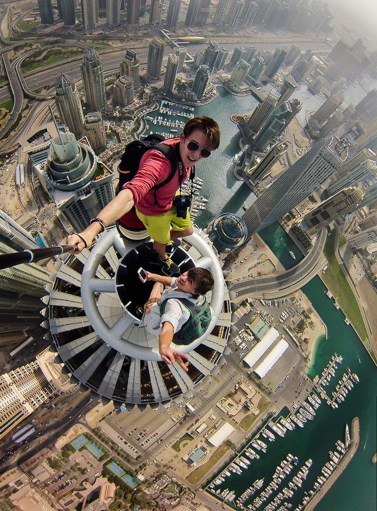 Things to Do in Dubai : Challenge your fear and try this at the top of Princess Tower Dubai