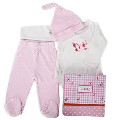 Minene Pink New Arrival Gift Box Set, Leggings, Vest and Hat 2013