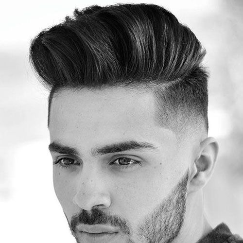 Low Taper Fade with Quiff