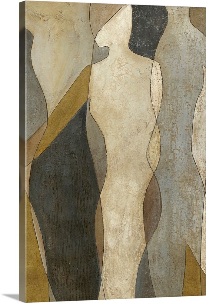 Figure Overlay I In 2020 Contemporary Abstract Painting Canvas Prints Framed Prints