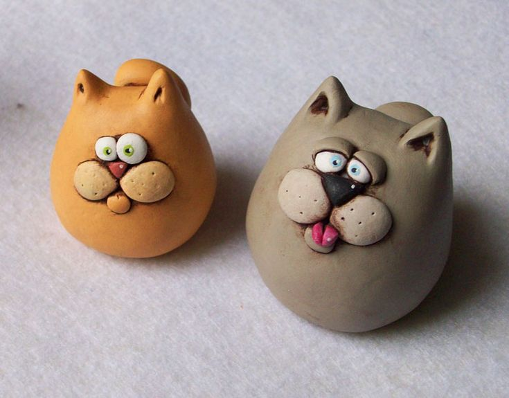 Polymer Clay, no tut but cute.