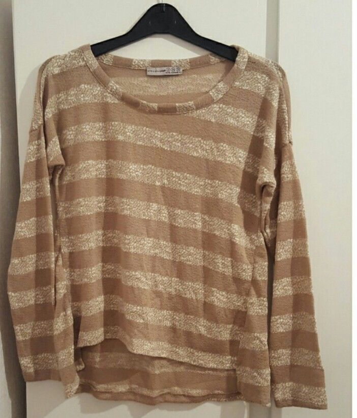 Primark top size 6 striped womens fashion in Clothes, Shoes & Accessories, Women's Clothing, Jumpers & Cardigans | eBay!