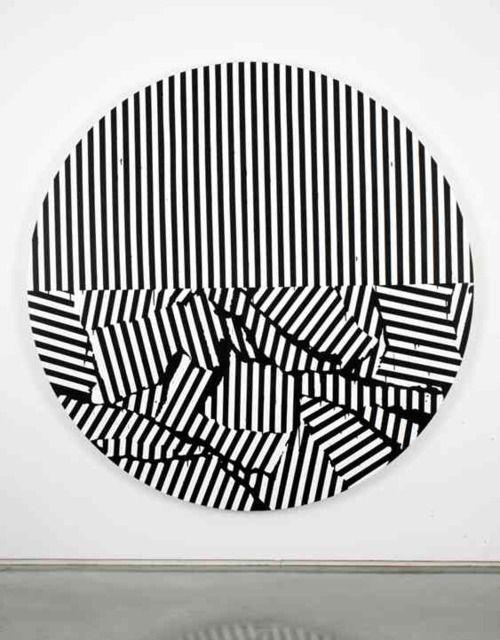 Gardar Eide Einarsson. Painting. #stripes #striped