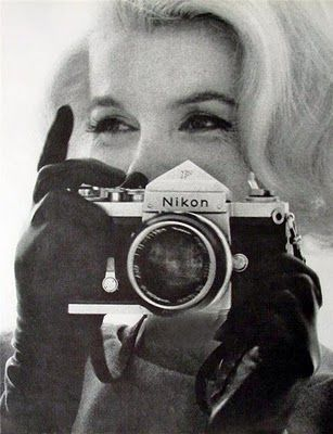 Marilyn mit Nikon F