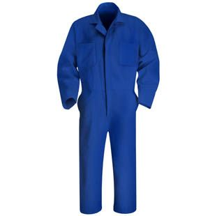 Men's Twill Action Back Coverall - 9 color choices CT10