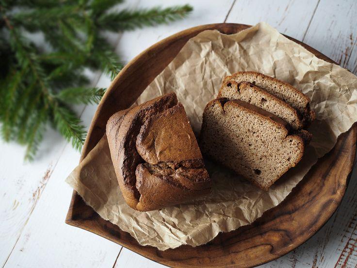 Recept: Mjuk pepparkaka Paleo. Denna mjuka pepparkaka är fri från spannmål och mjölkprodukter och bananen står för hela sötningen.