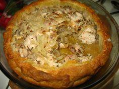 Татарская кухня. Зур бэлиш с курицей и рисом