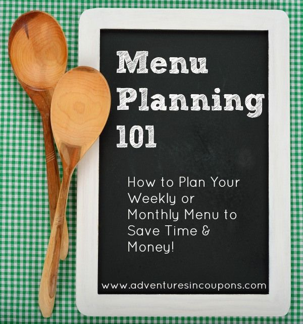 How to Menu Plan to Save Money - Confused on just how to start planning a menu for your family? This Menu Planning 101 post will walk you through every step from saving on groceries to how to plan a menu for your family!
