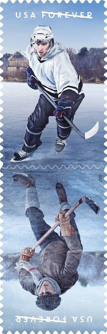 History of Hockey Forever stamp