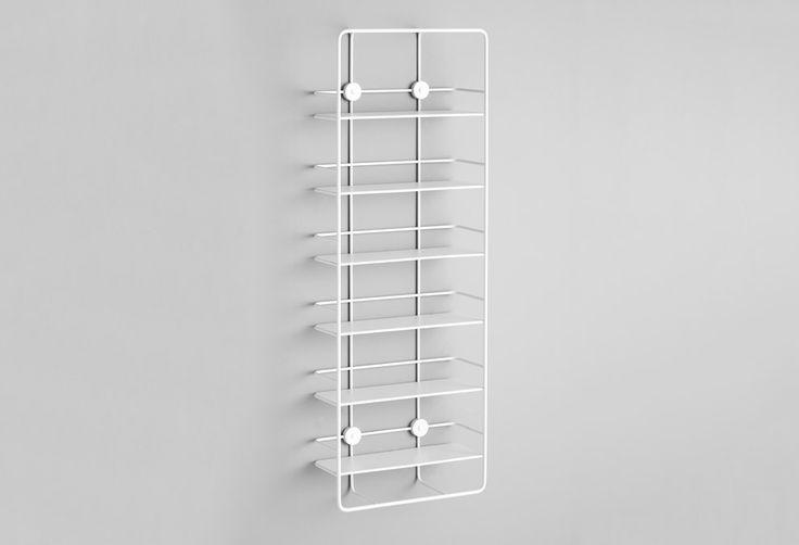 Etagère Coupé vertical Studio Pioat : Bibliothéques design Woud - Design Ikonik