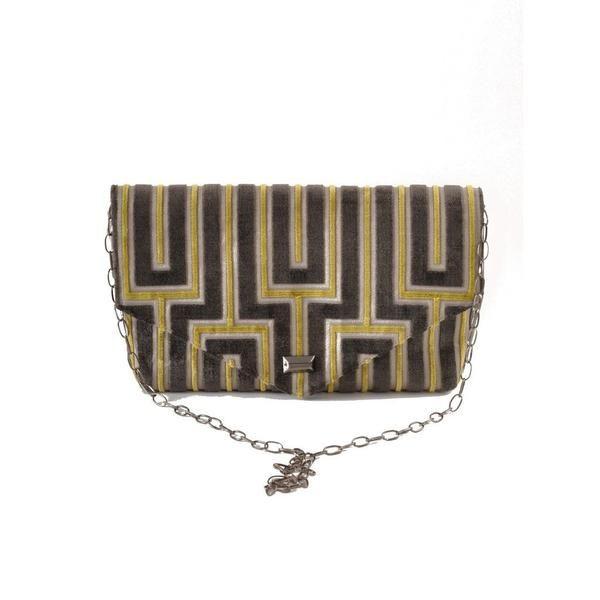 Maze Envelope Clutch