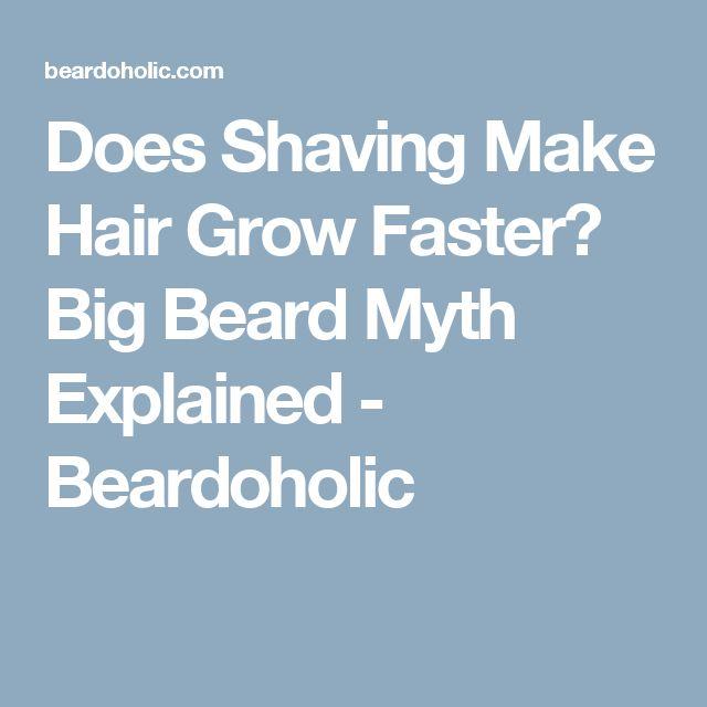 Does Shaving Make Hair Grow Faster? Big Beard Myth Explained - Beardoholic