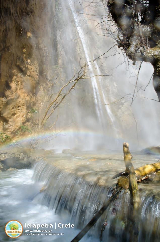 The waterfall of Mylonas in spring in #Ierapetra. | Ο καταρράκτης του Μυλωνά την άνοιξη (CC-BY-SA 3.0)