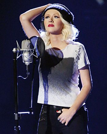 "Christina Aguilera New Song ""Say Something"": Singer Goes Indie Rock - Us Weekly"