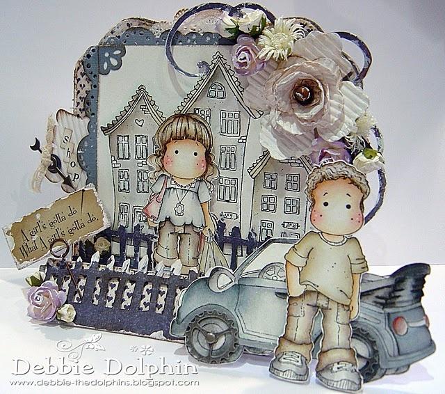 Magnolia cards By Debbie Dolphin