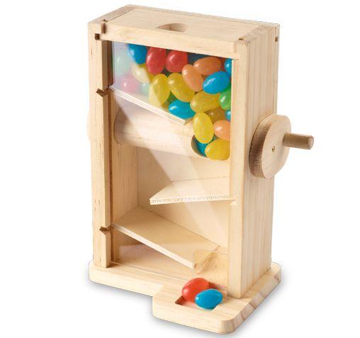 Bonbonspender Anleitungen Basteln Mit Holz