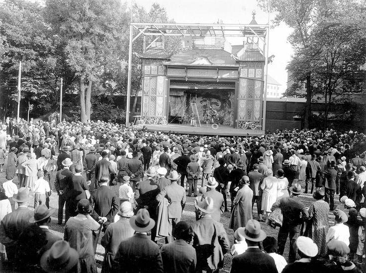 Teatern i Folkets park Malmö, 1930.
