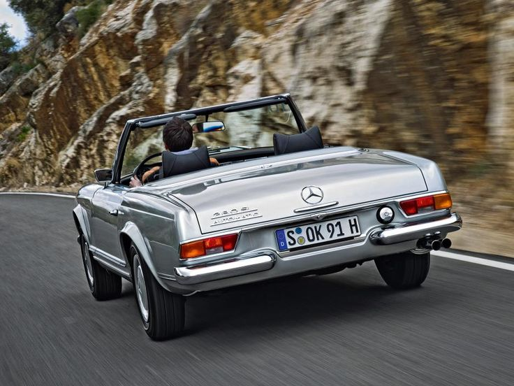 Mercedes Pagode - SL 280 (série W113)   Image 2 - autozeitung.de
