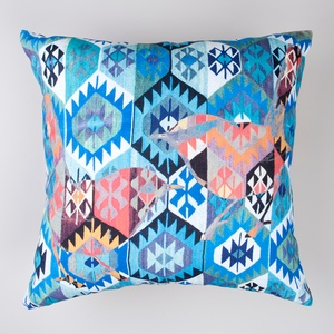 Frankie & Swiss' Kilim Birds in Blue