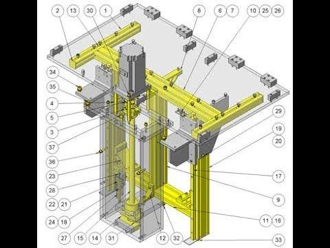 Magazine Lifter    Idea mechanism    Download free 3D cad