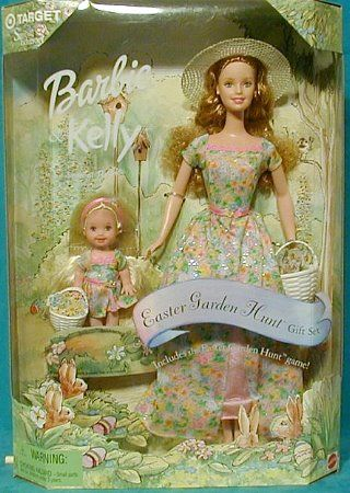 Barbie & Kelly Easter Garden Hunt.  I would totally have wanted this when I was a little girl.