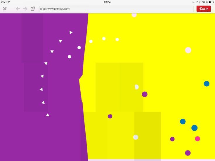Http://www.patatap.com Lag mer eller mindre tilfeldige lydlandskap. (Trenger slett ikke bli bare tilfeldig heller.) Se opp for sterkt blinkende visuelle effekter på skjermen...