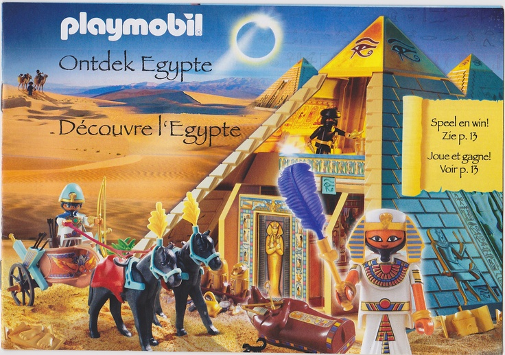 20 best images about my collection playmobil catalogues on - Egypte playmobil ...