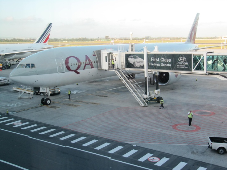 Qatar Airways inspection at Cape Town Airport