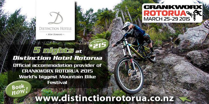 Crankworx Rotorua 2015 | Rotorua Mountain Biking