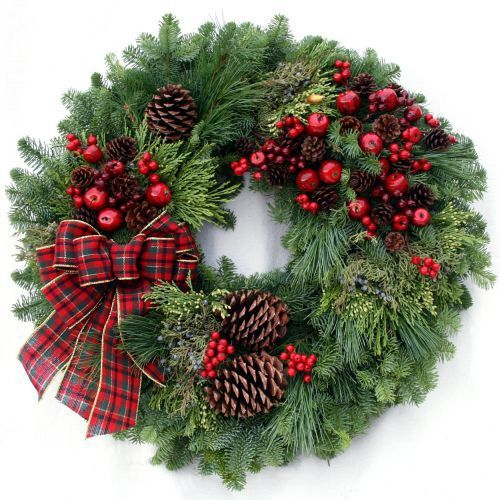 Country christmas wreath it 39 s beginning to look a lot for Christmas wreath