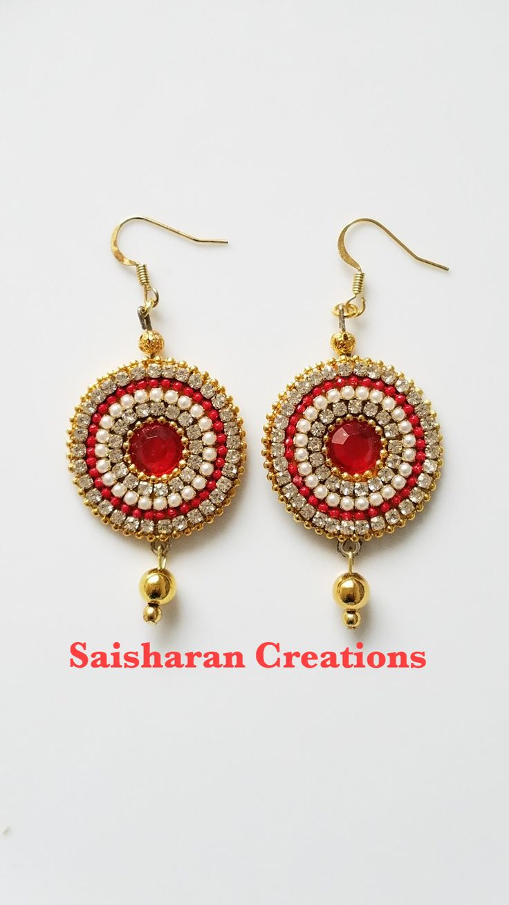 fashion beautiful earrings quality store golden silk making