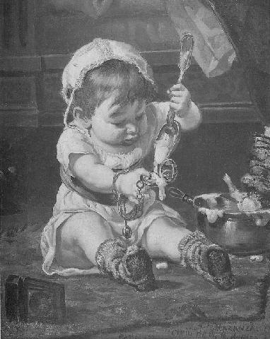 Un momento a solas, 1875.
