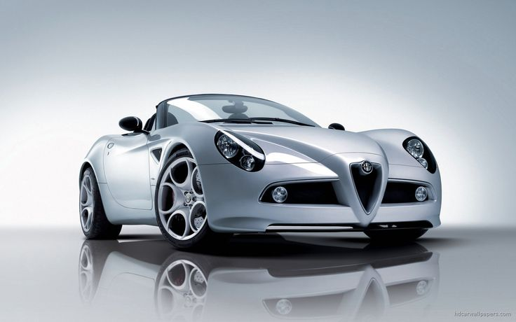 2008 Alfa 8C Spider HD Wallpapers. Download 2008 Alfa 8C Spider Desktop Background Widescreen Photos Pictures Images with High Quality Resolutions.
