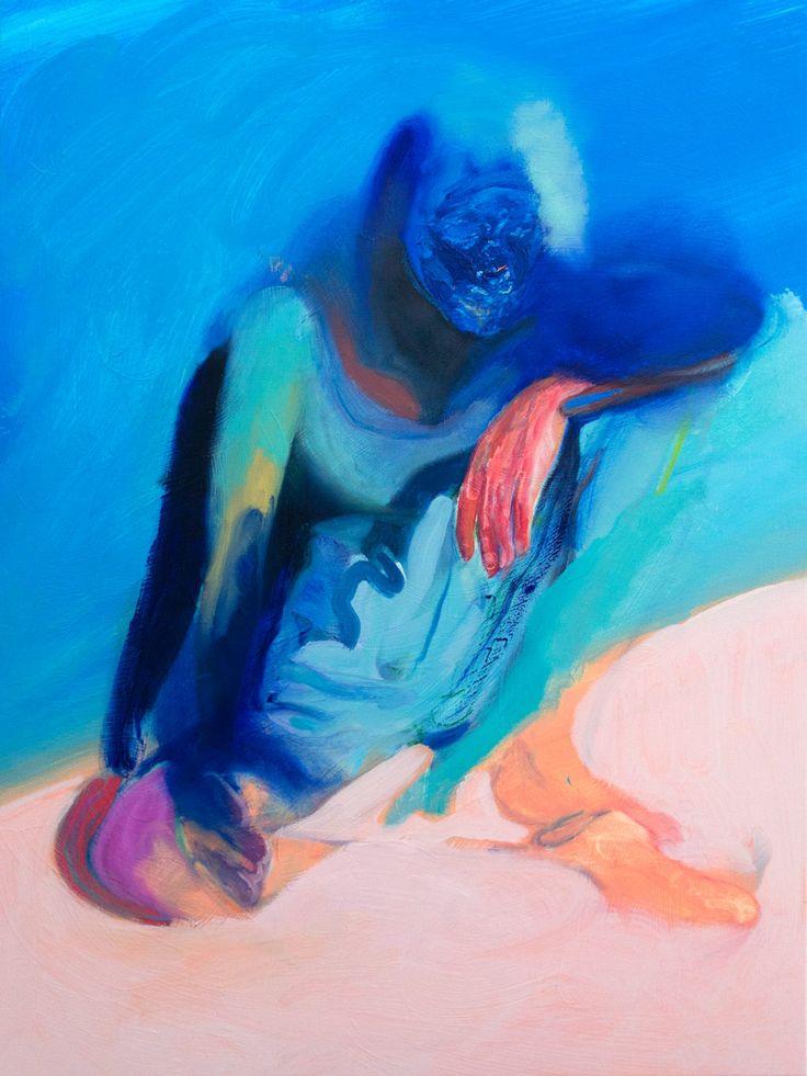 Winston Chmielinski - Phases 2013, Oil on canvas  80 x 60 cm. Courtesy of Egbert Baqué Contemporary Art