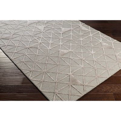 Blandon Hand-Tufted Gray/Neutral Area Rug