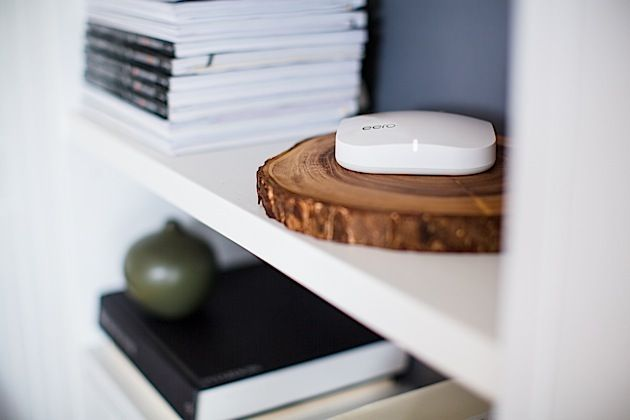 Eero thinks its tiny box can fix all your WiFi issues.