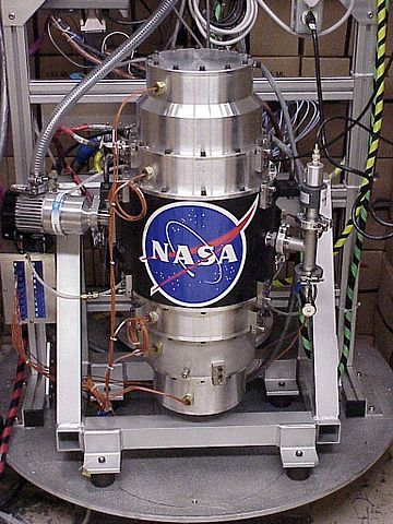 Fly wheels, such as the NASA G2 flywheel module above, are one way to store rotational energy for use by spacecraft or machines on Earth. NASA's looking for new energy storage systems to enable our future exploration missions. Image Credit: NASA