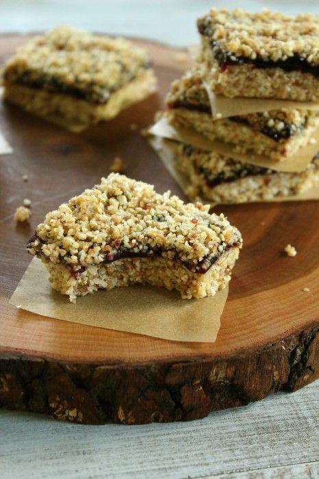 No-bake Blueberry Almond Oat Bars | Eat, Drink & Be Ye Merrie | Pinte ...