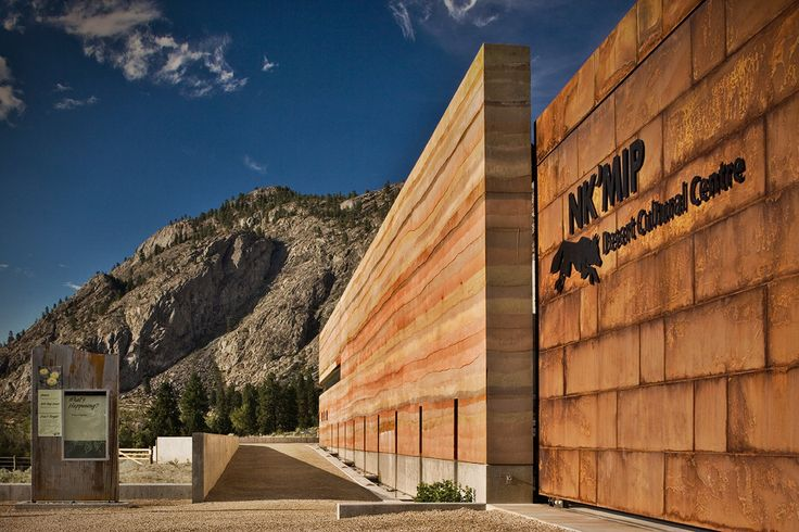 NK'Mip Desert Cultural Centre, Osoyoos, BC – SIREWALL | Structural Insulated Rammed Earth | Largest insulated rammed earth wall in the world #awardwinningarchitecture #DeepGreen #sustainable