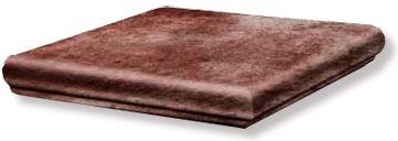 GRES ARAGON Rubino stopnica narożna 33x33 cm - MYTHO