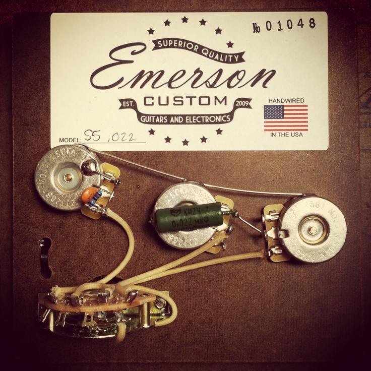 emerson custom stratocaster blender wiring diagram   50