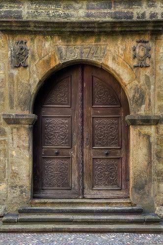 2090 Doors Brown Arched Backdrop Mehr & 134 best Medieval Doors images on Pinterest   French doors Antique ...