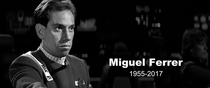 News - StarTrek.com pays tribute to Miguel Ferrer, who has passed away at the age of 61. The actor was best known for NCIS: Los Angeles, Twin Peaks and RoboCop, and counted Star Trek III: The Search for Spock as one of his earliest credits. Details at...