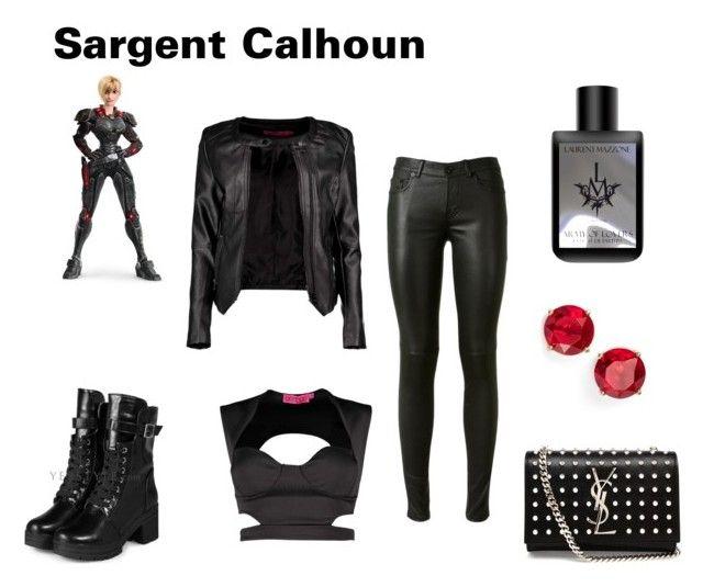 """Sargent Calhoun"" by sfinn ❤ liked on Polyvore"