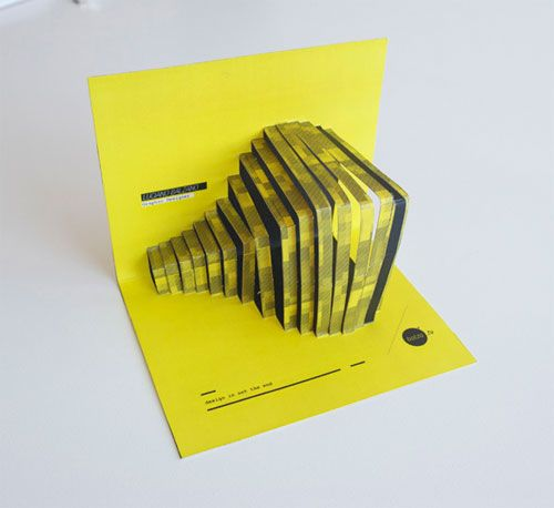 2.folded business cards