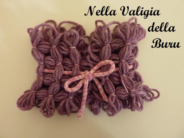 Nella valigia della Buru: #Telaio in legno per lavori a maglia: #scaldacollo. #tutorial #loom #neckwarmer