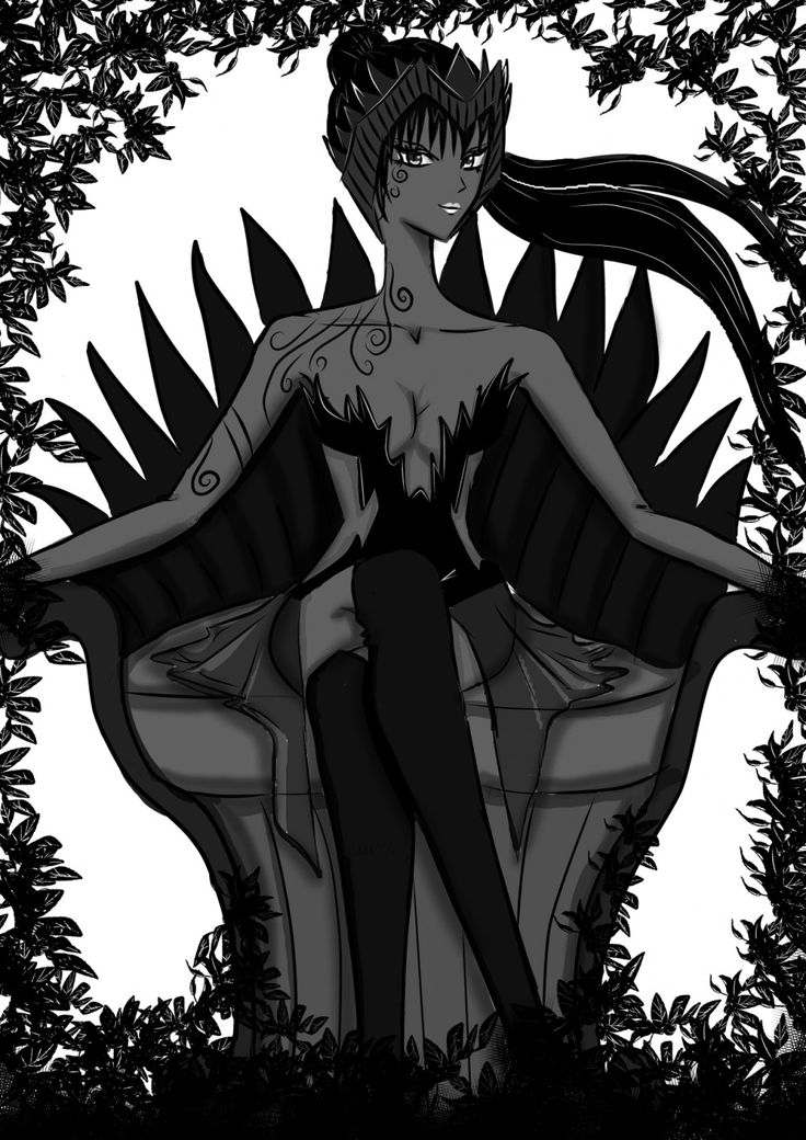 The Shadow Queen... Ruler of the upper world!!