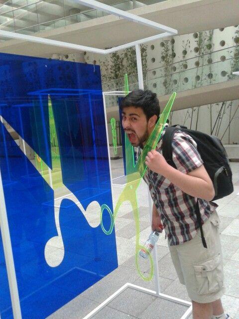 En el museo :)