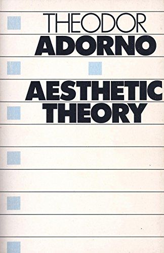 on adorno s aesthetic theory The continued significance of adorno's aesthetic theory, developed in critical response to high modernist art and the classical avant-gardes, arises neither through.