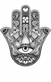 Image result for hamsa tattoo